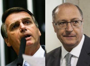 Paraná Pesquisas: Bolsonaro e Alckmin empatam em SP; Wagner tem máximo de 5,9%