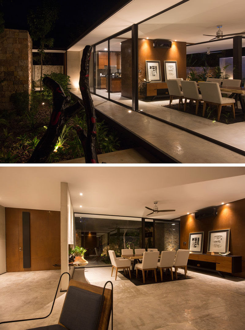 This New Modern House Has Made A Real Commitment To Indoor ...