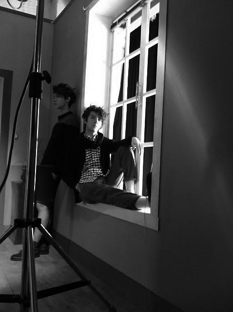 Photoshoot Edit Exo Sehun Luhan W Korea Korean Idol Jiuzhu