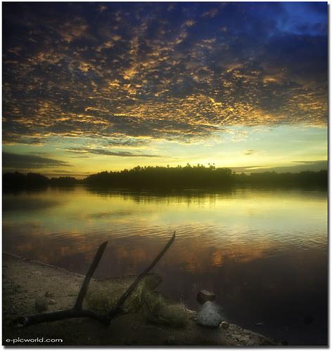 vertorama landscape - Macho dawn