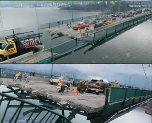 "The bridge scenes in ""Final Destination 5"" ..."