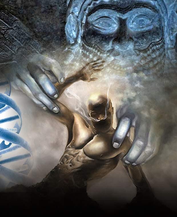 ¿Somos producto de una ingeniería genética extraterrestre?