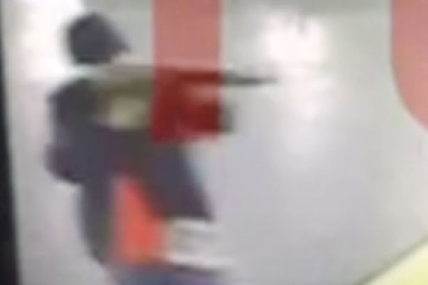 Suicide bomber with machine gun at Ataturk Airport during terror attack