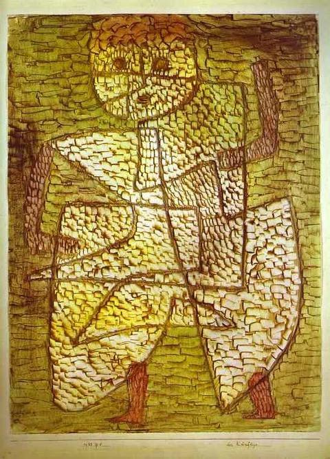 1933 Klee L'Homme du futur