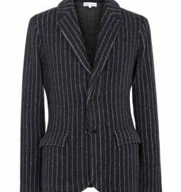 Reiss Ledbury Boiled Wool Blazer Navy