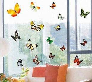 Wholesale Cartoon butterfly Home room Decor Removable Wall Sticker ...