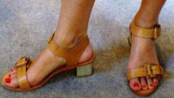"Strappy sandals, while not ""important"" in any way, turned out to be absolutely perfect for Style czar Karen von Hahn."