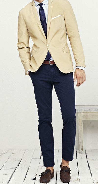 beige blazer mens ideas  pinterest