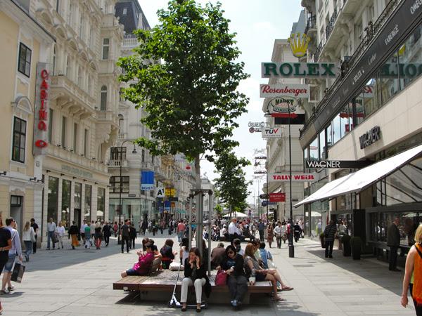 فنادق فيينا شارع المشاة
