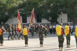 Despedida de la Bandera en 'Capitán Arenas'