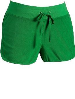 "Women's Plus: Women's Plus Terry Shorts (3"") - Green Light"