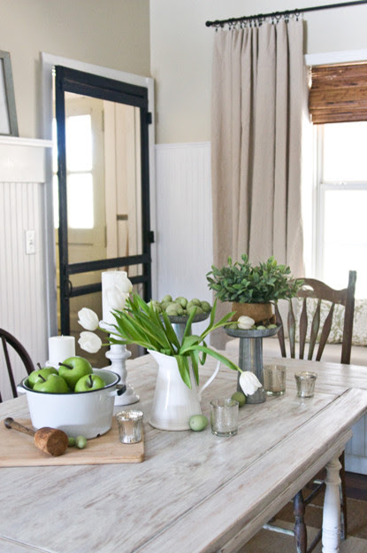The Lettered Cottage traditional dining room