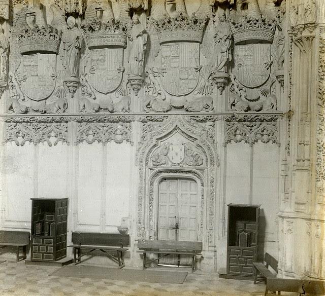 Monasterio de San Juan de los Reyes en 1915. Fotografía de Luis Calandre Ibáñez
