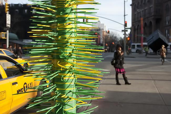 Flaming Cactus, Astor Place