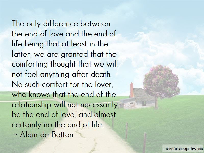 End Of The Relationship Quotes Top 41 Quotes About End Of The