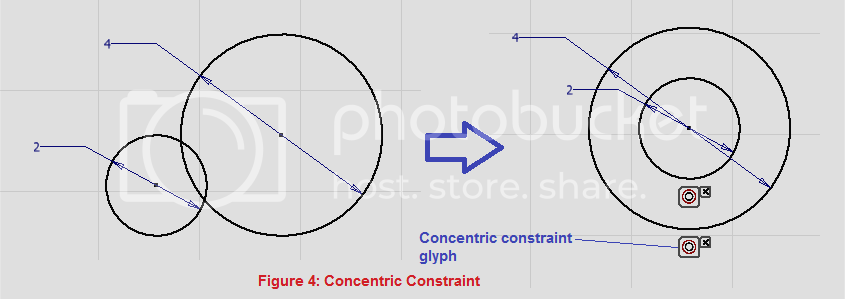 concentric constraint demo