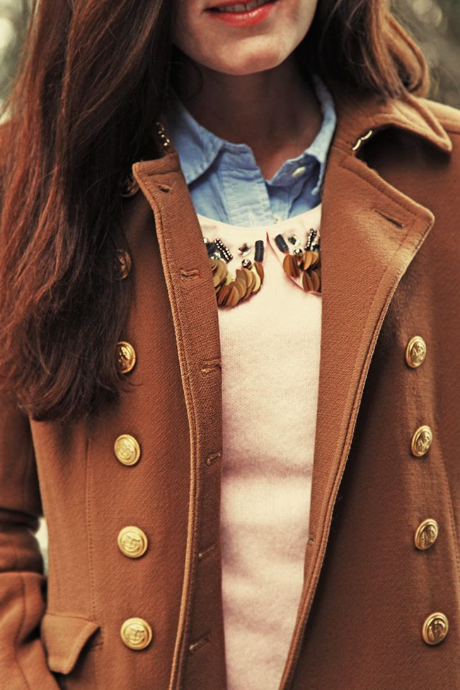Camel jacket...Love!