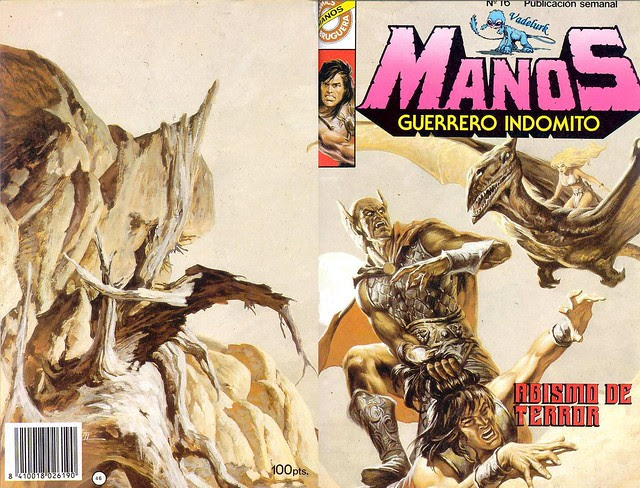 Manos Guerrero Indomito, Cover #16