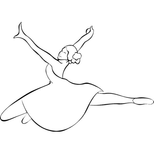 Disegno Di Danza Classica Da Colorare Per Bambini