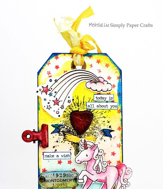 Simply Paper Crafts: Happy Birthday Simon Says Stamp Mixed ...