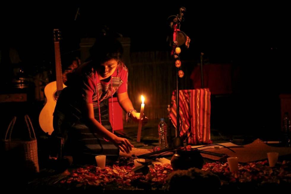 12. Sara Curruchich se ha convertido en el rostro de la revolución indígena en Guatemala.