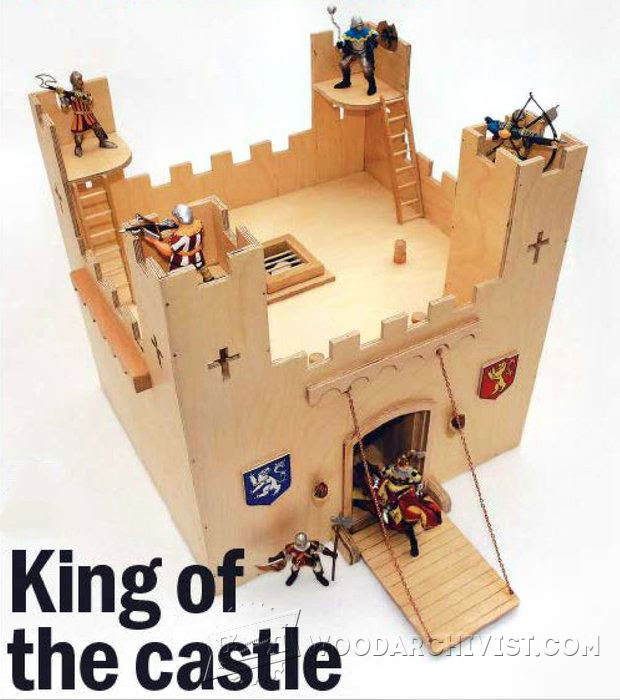 Wooden Castle Plans • WoodArchivist