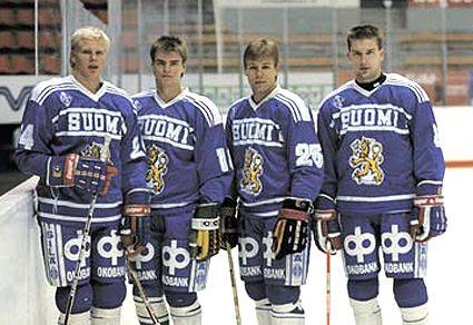 Mikko Makela, Raimo Helminen, Raimo Summanen and Ville Siren., Mikko Makela, Raimo Helminen, Raimo Summanen and Ville Siren.
