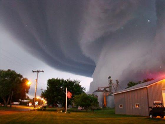 Torando em Iowa, EUA