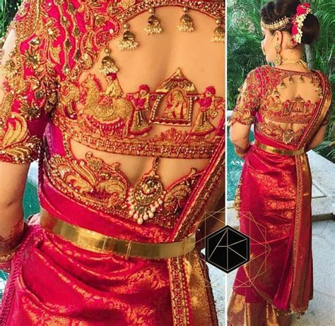 Pin by Reshma on Embroidery   Saree blouse designs, Bridal