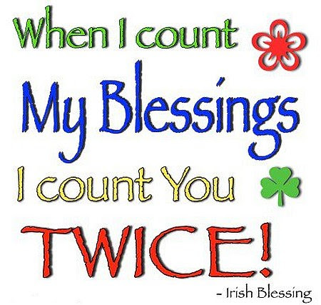 When I Count My Blessings I Count You Twice Quote Picture