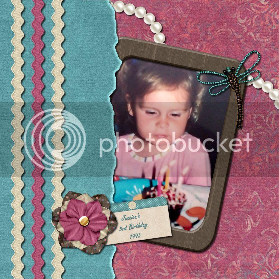 Jessica's 3rd Birthday, 1993