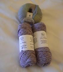 Cestari sock yarn and Jojoland Harmony