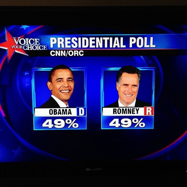 7News. It's not a dead heat. Electoral College! Hello? Read Nate Silver.