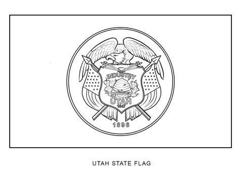 106+ Coloring Book Pages Utah Best HD