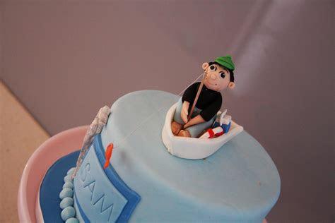 Sam?s fishing birthday cake