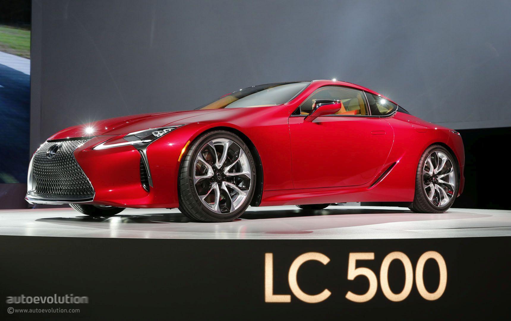 Funky Lexus Lc  Eyeson Design Awards Autoevolution
