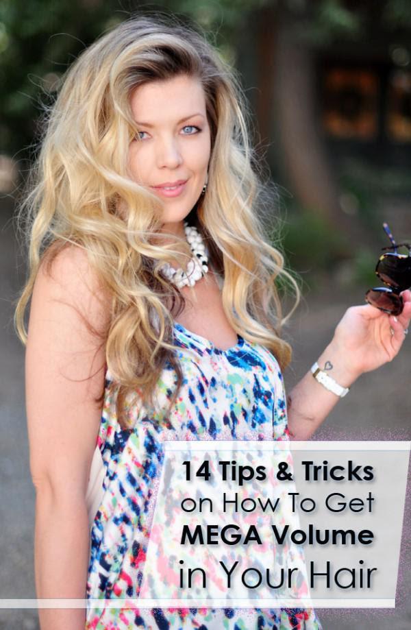 How To Get Mega Volumen In Ihr Haar