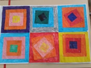 Tracer des carrés et des rectangles.