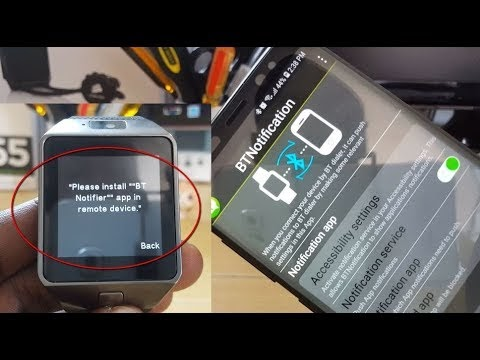 Watch phone app smart - How to install apps