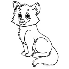 coloring pages of baby foxes at getcolorings  free printable colorings pages to print and color
