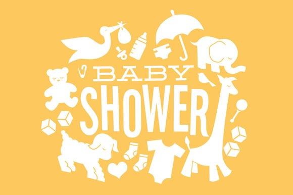 6135827cba60 Baby Shower Icons ~ Illustrations on Creative Market