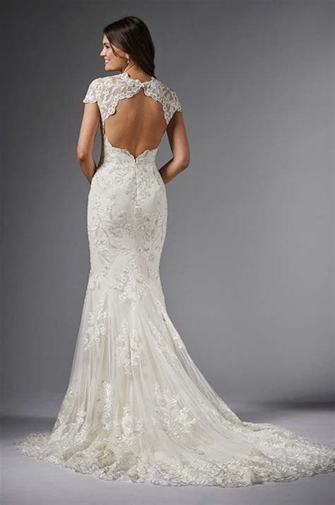 Body hugging, fit and flare gown, featuring perfectly