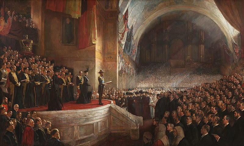 File:Opening of the first parliament.jpg