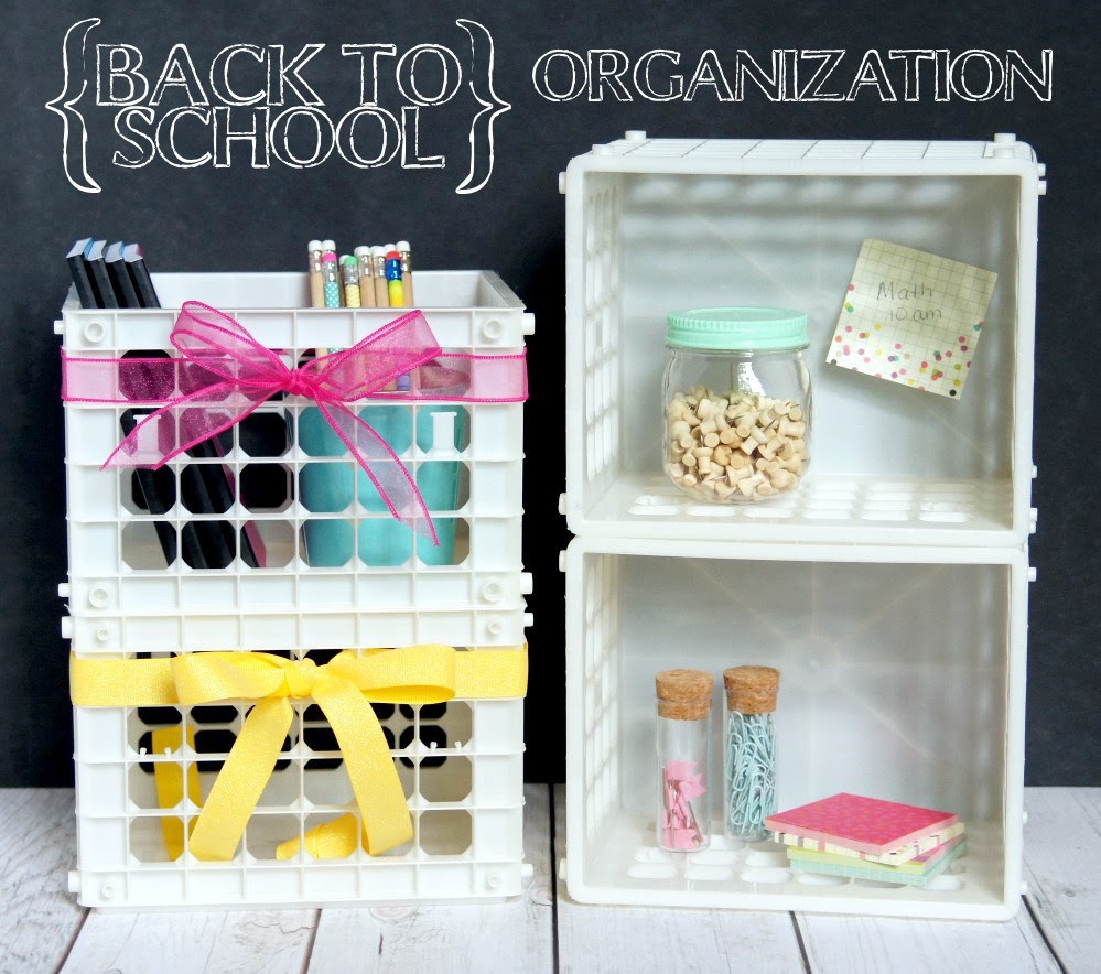 Back to School Organization - Do More For Less - HMLP 100 - Feature