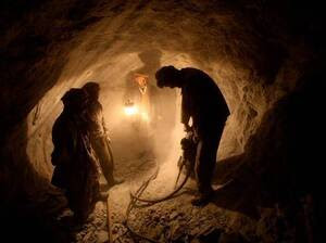 Mines, like this one in Badakhshan, could help lift Afghanistan out of poverty.
