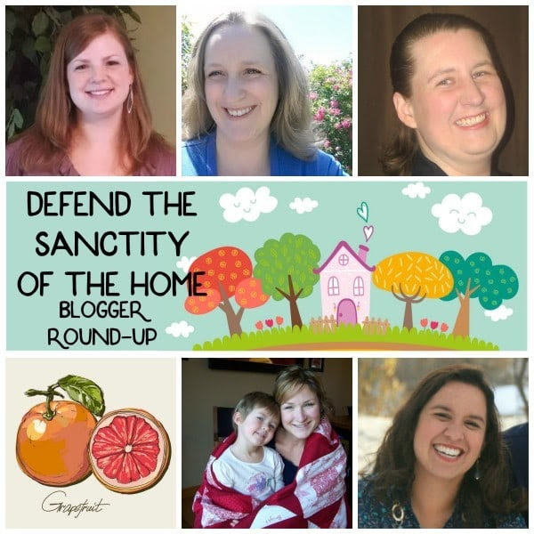 Defend the Sanctity of the Home Blogger Round-up: These bloggers offer their advice and experience on making their homes a sacred space.