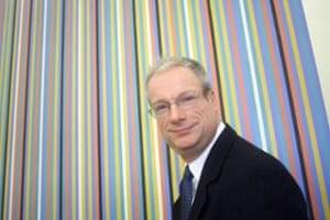 Chris Smith στην Tate Modern το 2000.