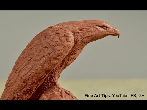 On-Line Sculpture Course: How to Model An Eagle in Clay