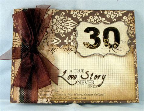 Crafty Colonel: 30th Wedding Anniversary