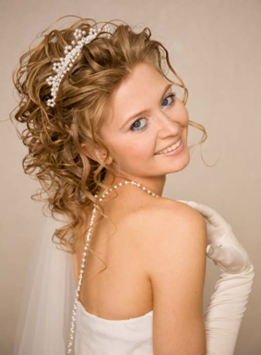 20 Curly Wedding Hairstyles Ideas - Wohh Wedding